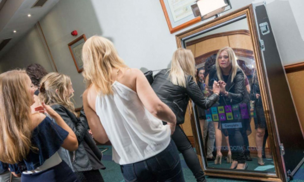 Shutterbox Magic Mirror Hire