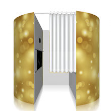 Gold Photo Booth Hire