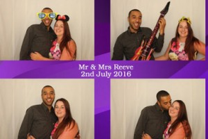 Shutterbox Photobooths at Mr and Mrs Reeve's Wedding